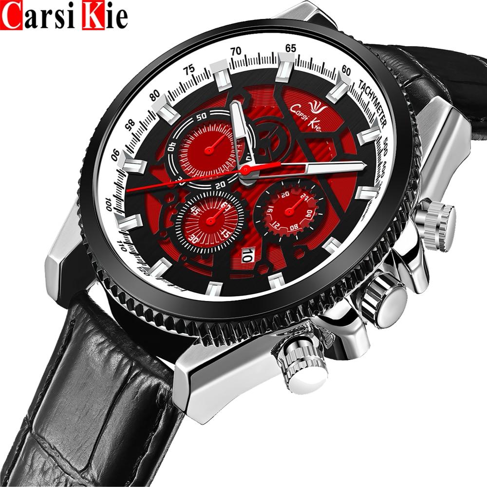 Carsikie Мужская мода Зажигалка часы черный нержавеющие стали люксовый бренд наручные Золото Квадратные кварцевые часы 2021 для мужчин