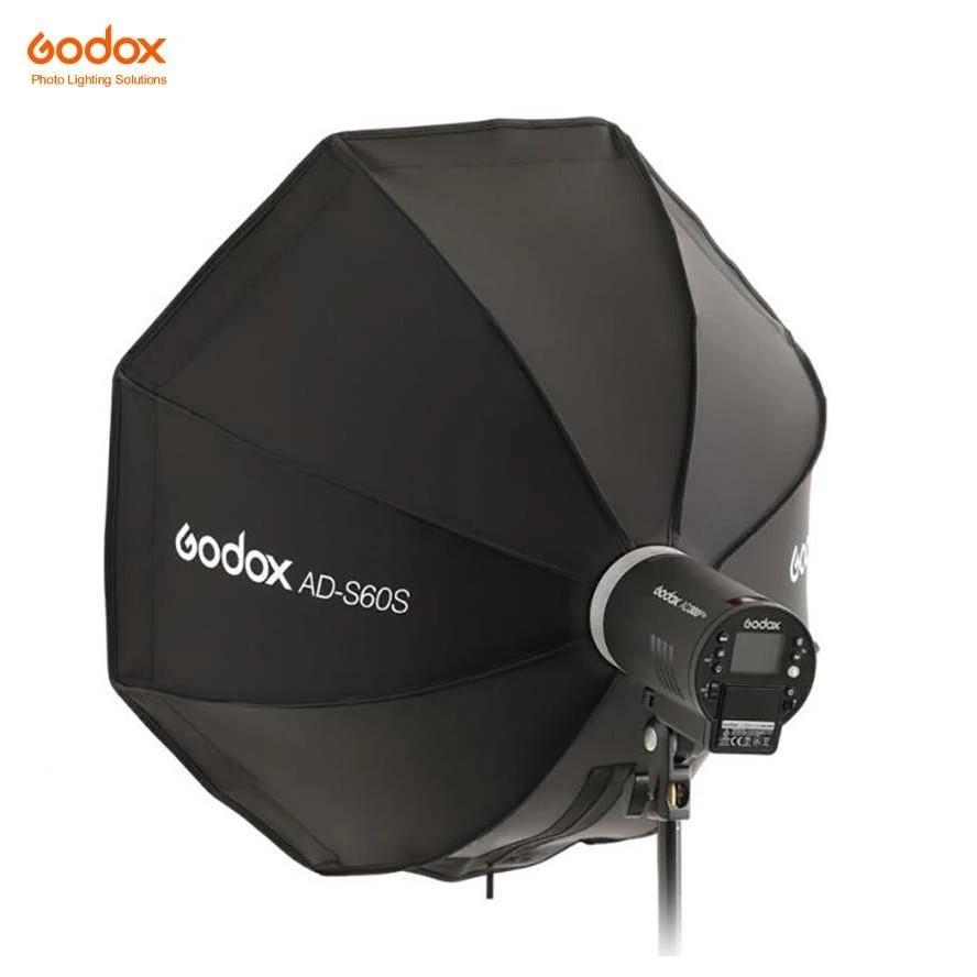 Godox AD-S60S ADS60S Umbrella Style 60 см быстрый складной серебряный софтбокс с решеткой Godox Mount для AD400Pro, AD300Pro светодиодный ML60