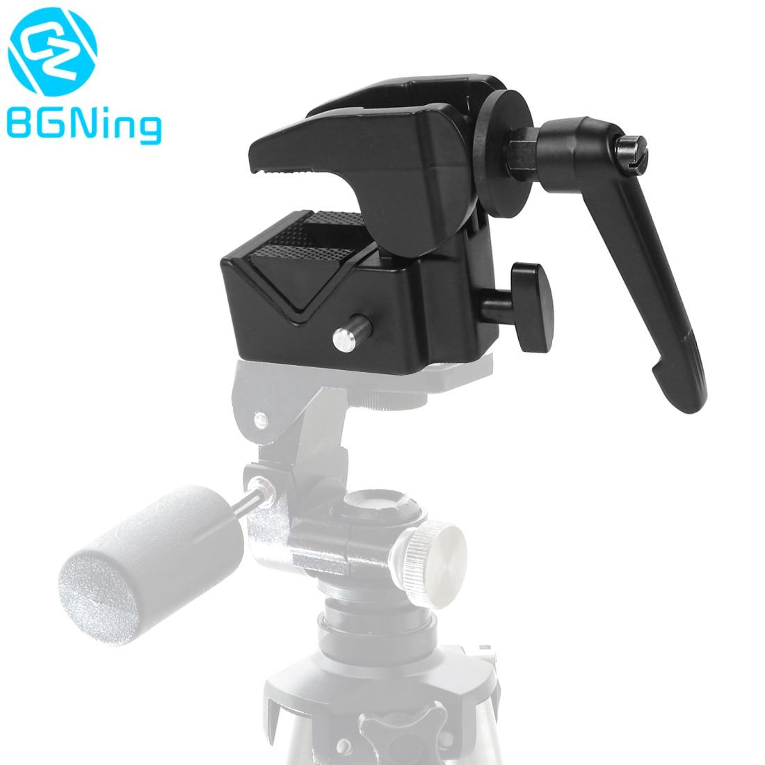 Многофункциональный крепежный зажим для камеры DSLR, зажим для фотостудии из алюминиевого сплава с ЧПУ, суперзажим для Canon, аксессуары для шта...