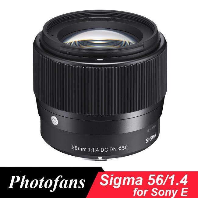 Sigma 56 1,4 объектив 56 мм f/1,4 DC DN современный объектив для Sony A5100 A6000 A6300 A6400 A6500