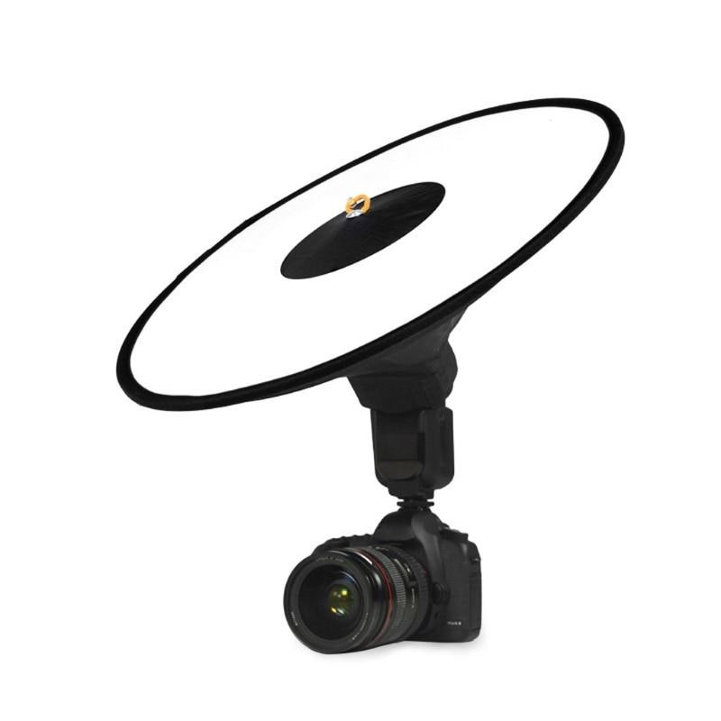 Универсальный 42 см круглый софтбокс для студийной вспышки Speedlite диффузор ремешок для отражателя для Canon Nikon Sony Yongnuo