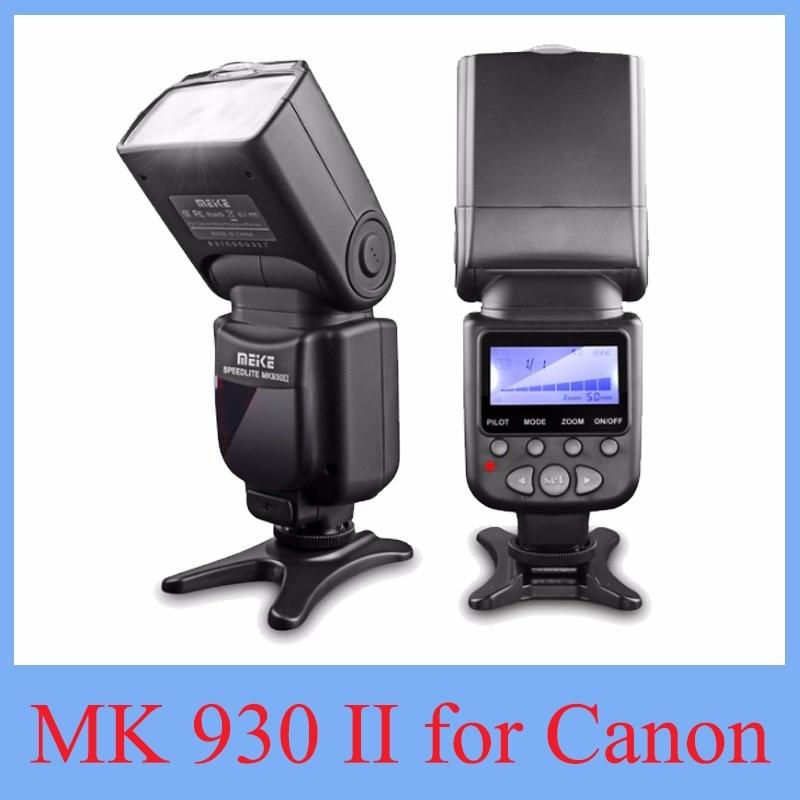 Вспышка Meike MK-930 II для Canon 6D EOS 5D 5D2 5D Mark III II, вспышка Yongnuo YN-560 YN560 II YN560II, 2017