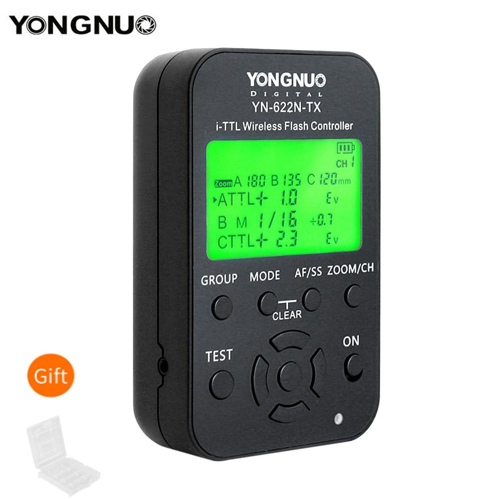 Yongnuo YN-622N-TX YN 622N TX i-TTL беспроводной контроллер вспышки, беспроводной триггер, трансивер для камер Nikon