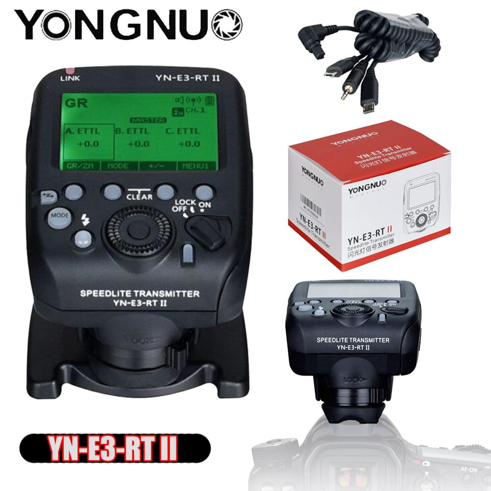 YONGNUO YN-E3-RT II Вспышка TTL радиопередатчик Speedlite как фотовспышка для Canon 600EX-RT YONGNUO ST-E3-RT