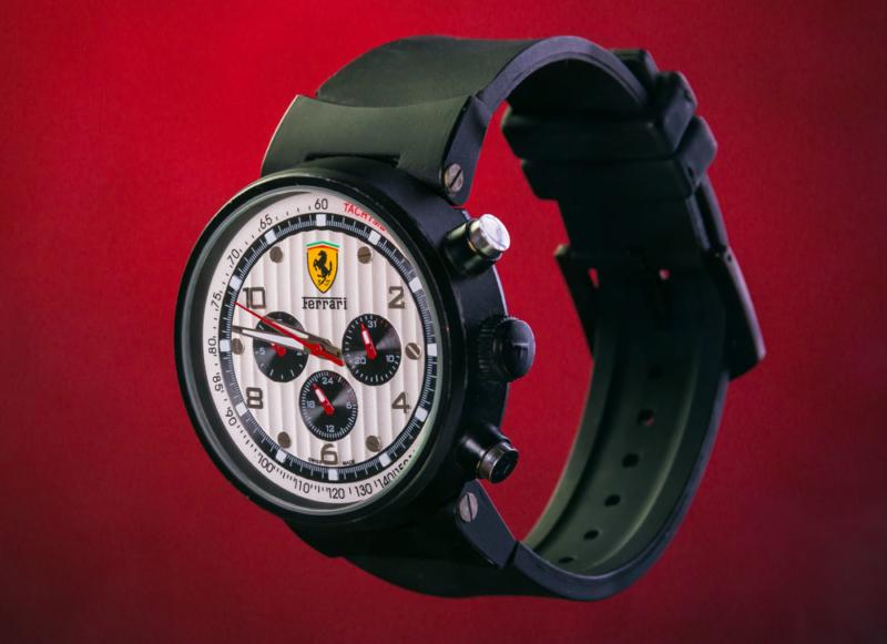 Ferrari-clock