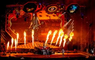 Концерт KISS в Москве 2019