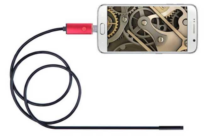 Эндоскоп для Android и iOS