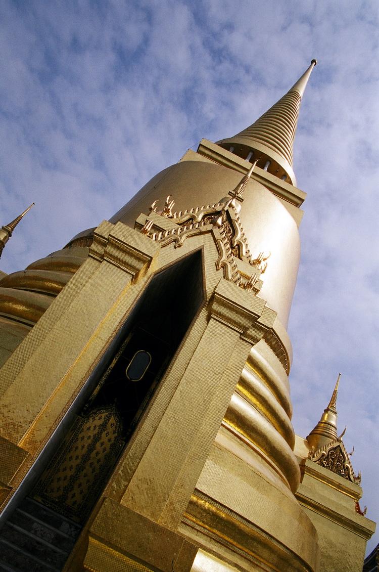 Золотая ступа в Большом дворце
