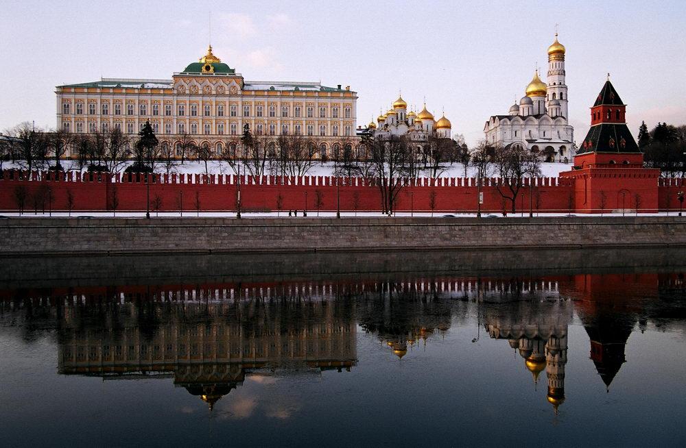 Московского кремля — вид от Москвы реки