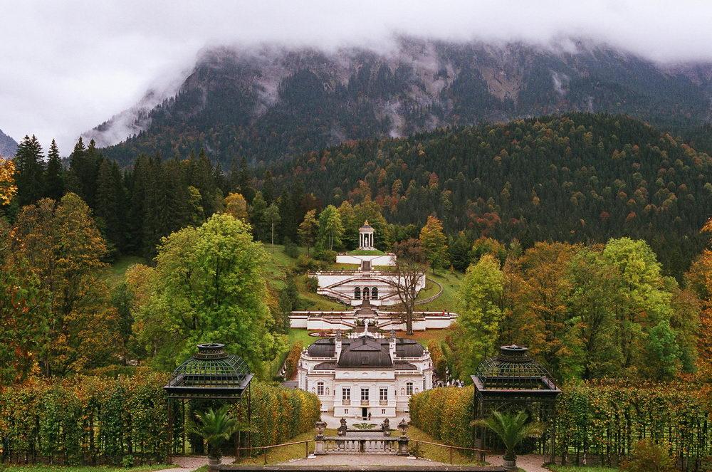 Замок в Линдерхоф