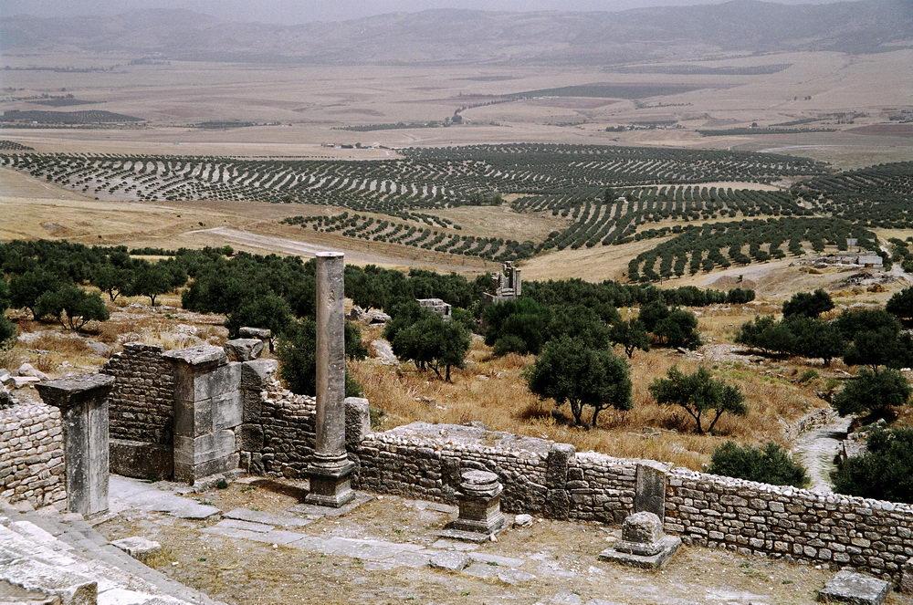 Старый город в Дугга - Тунис