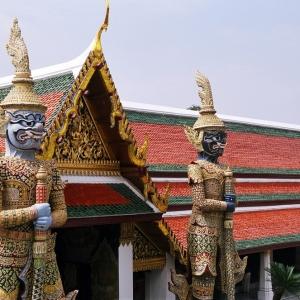 Два воина в королевском дворце