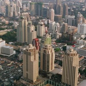 Вид на Бангкок с отеля Байок Скай
