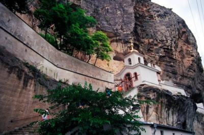 Свято-Успенский монастырь в Крыму - Бахчисарай