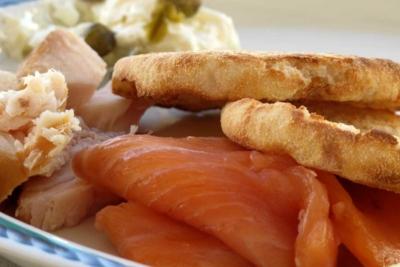 Завтрак с рыбой