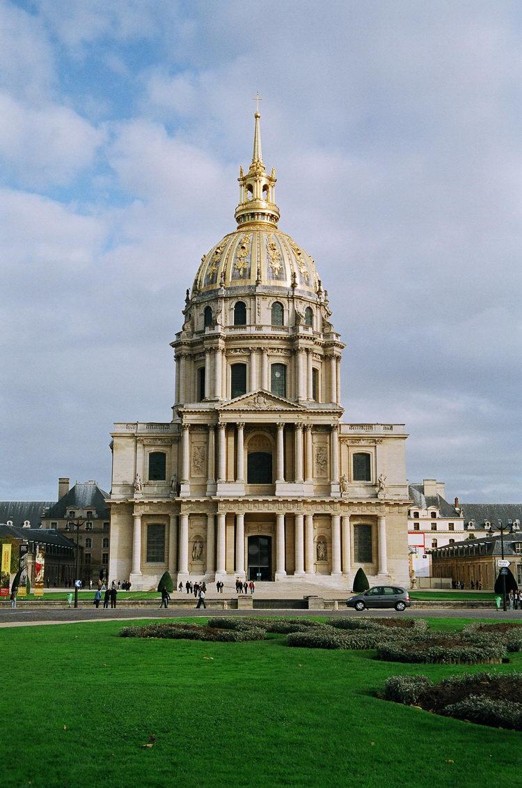 Дом инвалидов войны в Париже