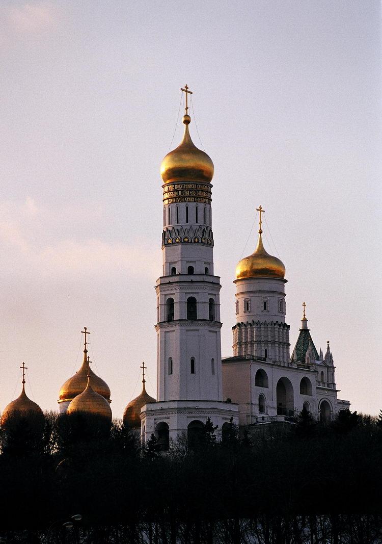 Колокольня Ивана Великого Московского Кремля