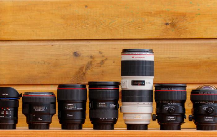 объективы Canon