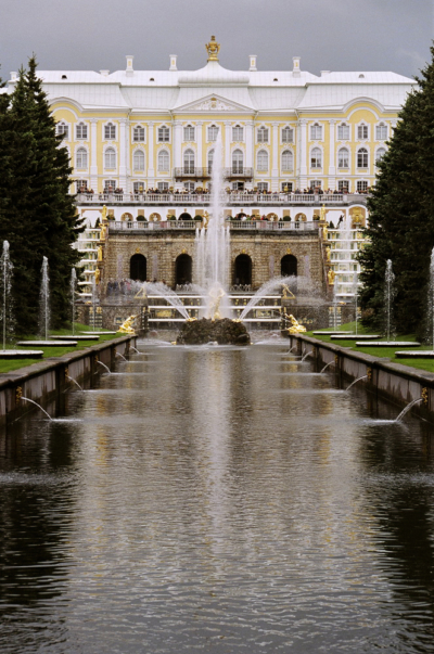 Канал в Петродворце