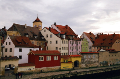 Регенсбург в Баварии Германия