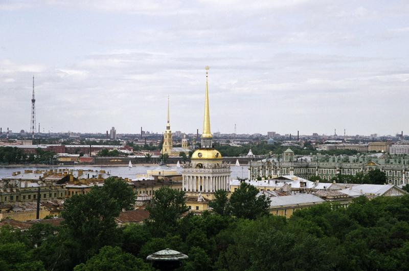 Фото Адмиралайтейства и Петропавловской крепости