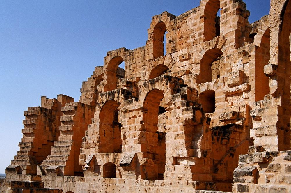 Колизей Эль Джем в Тунисе